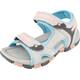 Hi-Tec GT Strap Sandals Kids Cool Grey/Curacou Blue/ Papaya Punch